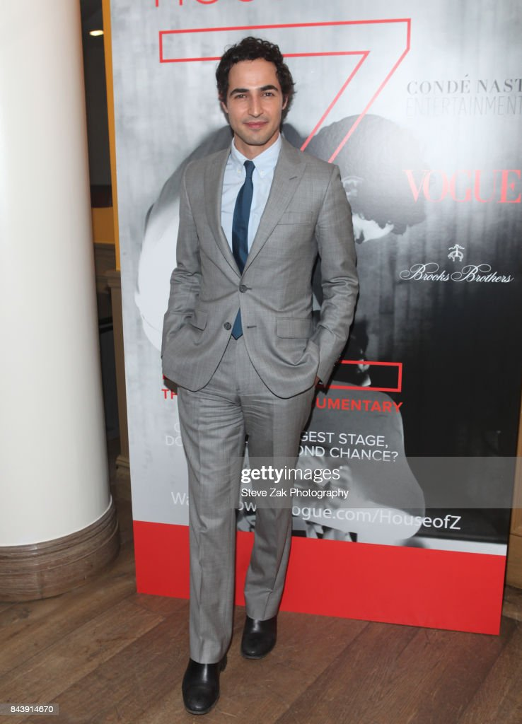 Designer Zac Posen attends the premire of 'House Of Z' hosted by Brooks Brothers with The Cinema Society at Crosby Street Hotel on September 7, 2017 in New York City.