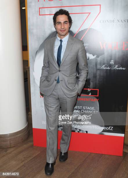 Designer Zac Posen attends the premire of 'House Of Z' hosted by Brooks Brothers with The Cinema Society at Crosby Street Hotel on September 7 2017...