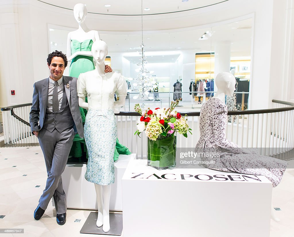 Designer Zac Posen attends the Zac Posen Pre-Fall And Fall 2014 Collections Preview at Saks Fifth Avenue on May 8, 2014 in Bala-Cynwyd, Pennsylvania.