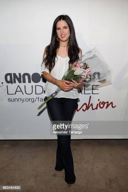 Designer Zoey Reva Sage attends Underground Lauderdale Fashion Weekend Brought To You By The Greater Fort Lauderdale Conventions Visitors Bureau And...