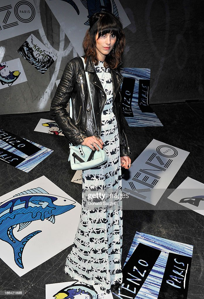 Designer/artist Langley Fox Hemingway attends the Kenzo Kalifornia launch dinner and party at The Berrics on October 30, 2013 in Los Angeles, California.