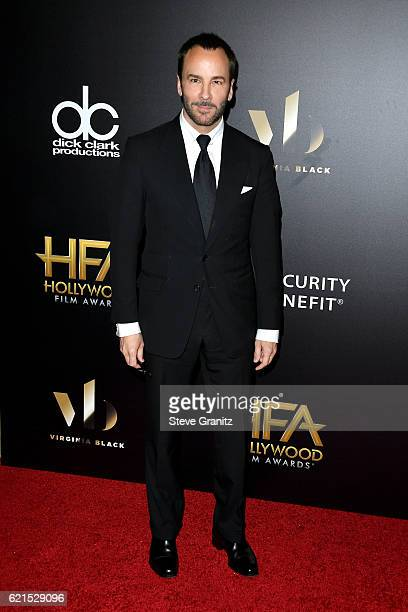 Designer/director Tom Ford attends the 20th Annual Hollywood Film Awards on November 6 2016 in Los Angeles California