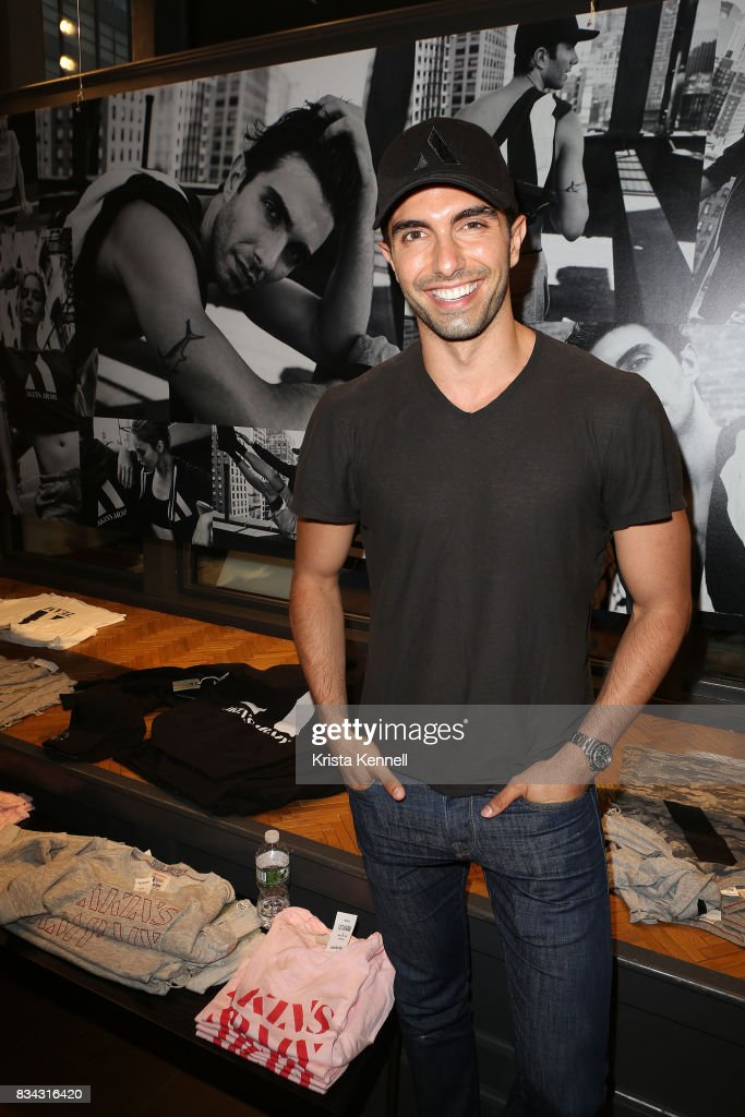 Designer/Model Akin Akman attends the Todd Snyder x Akin's Army Collaboration Launch at Todd Snyder Flagship Store on August 17, 2017 in New York City.