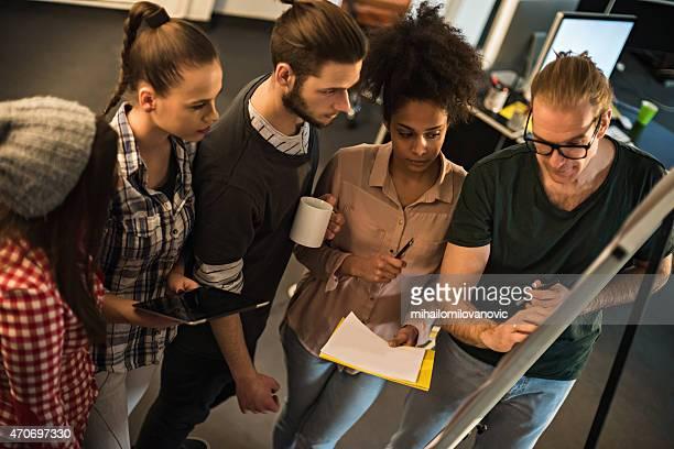 Designer bei der Tagung