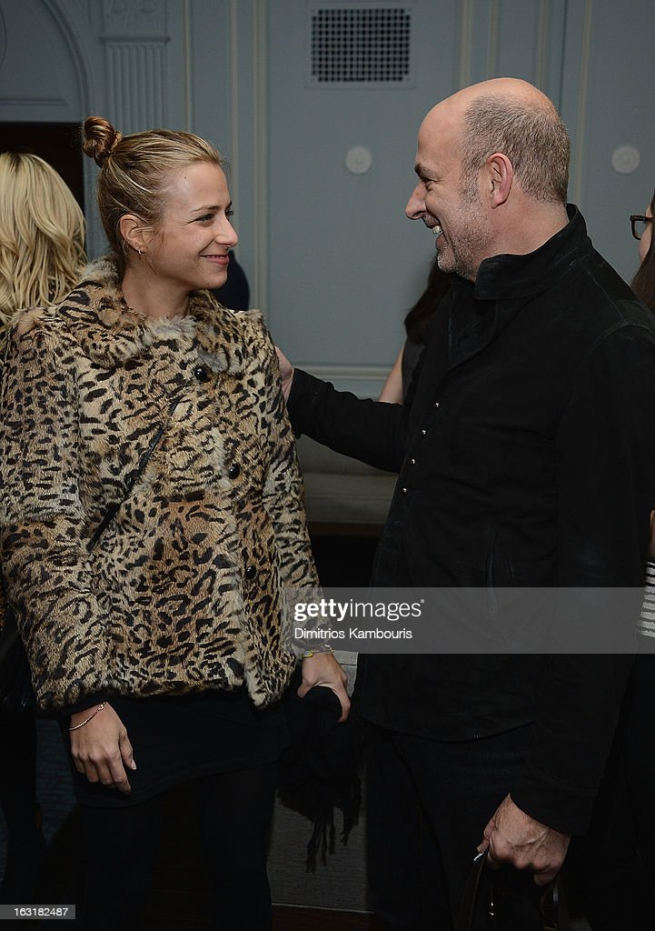 Designers Charlotte Ronson and John Varvatos attend the after party for the Gucci and The Cinema Society screening of 'Oz the Great and Powerful' at Harlow on March 5, 2013 in New York City.