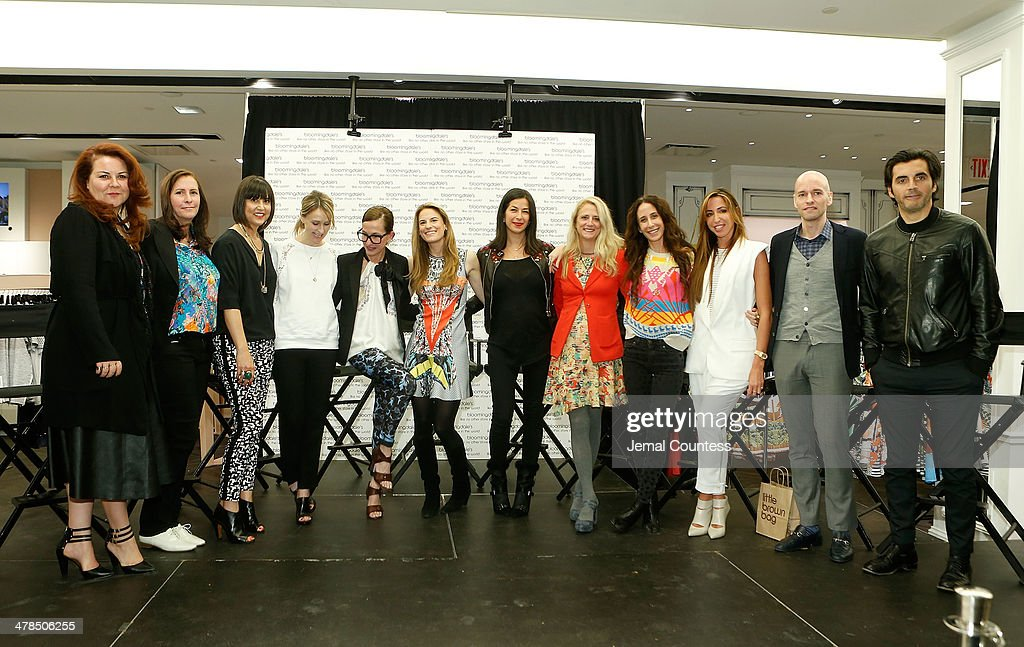 Designers Cynthia Vincent Amanda Uprichard Trina Turk Rebecca Taylor Cynthia Rowley Bloomingdales Fashion Director Brooke Jaffe designers Rebecca...