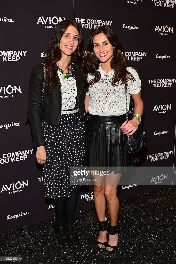 Designers Danielle Snyder and Jodie Snyder attend 'The Company You Keep' New York Premiere at The Museum of Modern Art on April 1, 2013 in New York City.