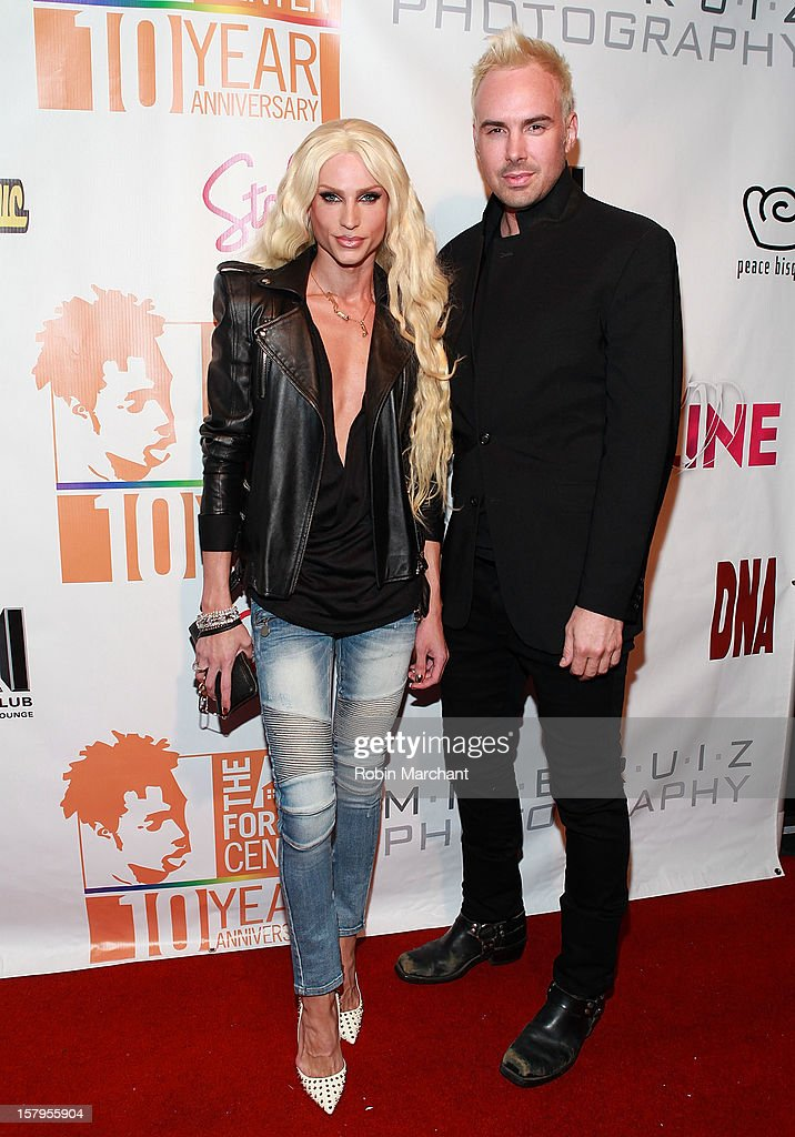 Designers David Blond and Phillipe Blond attend Mike Ruiz' Birthday Gala at XL Nightclub on December 7, 2012 in New York City.