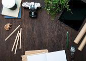 Creative designers desk