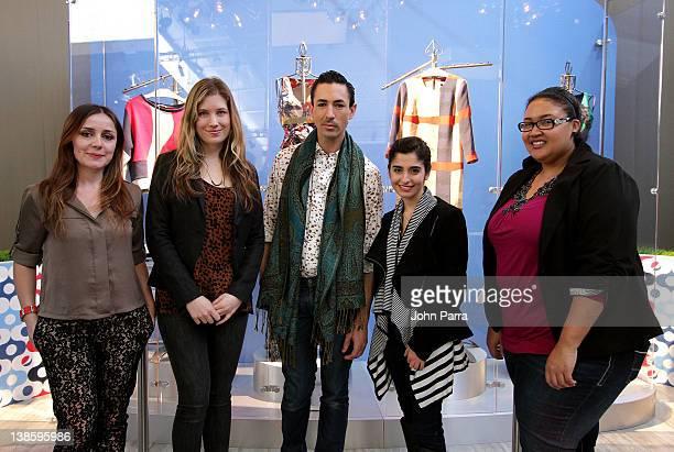 Designers Genoveva Christoff Elise Bergman Christian Cota Shirin Askari and Rachel Hurst attend Diet Pepsi x Christian Cota Capsule Collection...