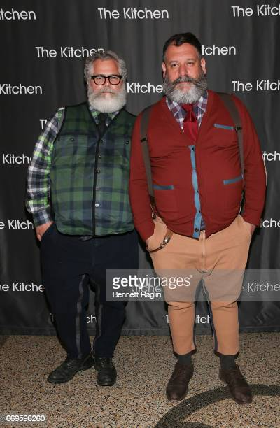 Designers Jeffrey Costello and Robert Tagliapietra attend The Kitchen's Spring Gala 2017 at Hammerstein Ballroom on April 17 2017 in New York City