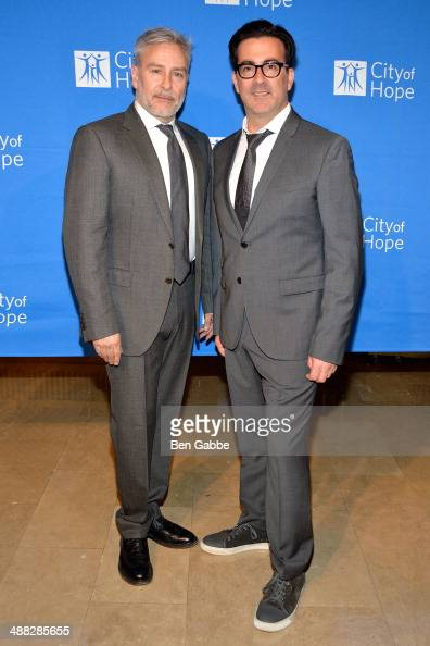 Designers Ken Kaufman and Isaac Franco attend 2014 'Spirit Of Life' Awards Luncheon at The Plaza Hotel on May 5 2014 in New York City