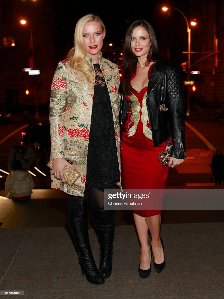 Designers Keren Craig and Georgina Chapman attend the 'In Vogue: The Editor's Eye' screening at the Metropolitan Museum of Art on December 4, 2012 in New York City.