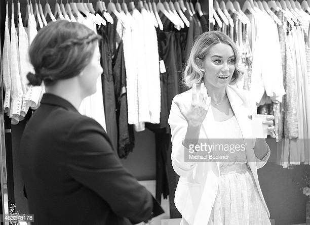 Designers Lauren Conrad and Anna Bond attend the Paper Crown Rifle Paper Co PopUp Shop With Lauren Conrad and Anna Bond At The Grove at The Grove on...
