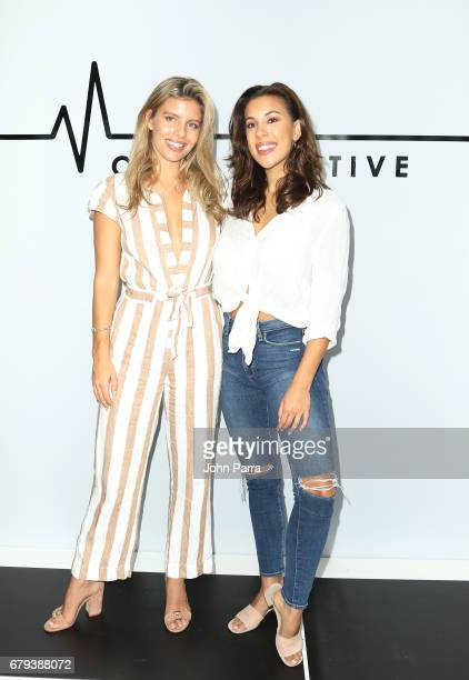 Designers Natasha Oakley and Devin Brugman attend Monday Active Fashion Presentation May 2017 The Retreat Athleisure Experience Presented By...