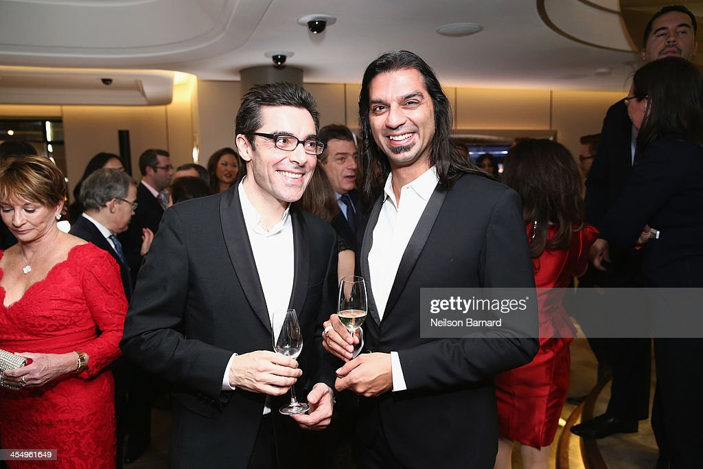 Designers Patrick Jouin and Sanjit Manku attend the unveiling of Van Cleef & Arpels redesigned New York 5th Avenue Flagship Maison at Van Cleef & Arpels on December 10, 2013 in New York City.
