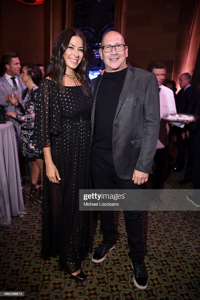 Designers Rebecca Minkoff (L) and Reed Krakoff attend the Accessories Council 20th Anniversary celebration of the ACE awards at Cipriani 42nd Street on August 2, 2016 in New York City.