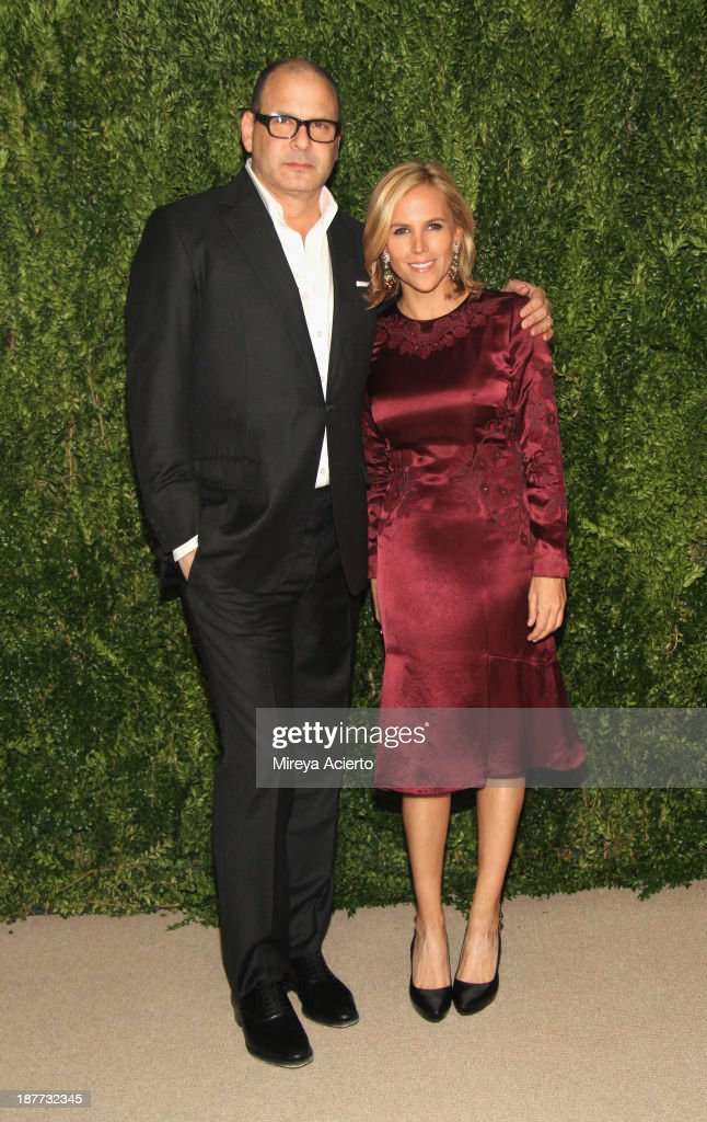 Designers Reed Krakoff and Tory Burch attend CFDA and Vogue 2013 Fashion Fund Finalists Celebration at Spring Studios on November 11, 2013 in New York City.