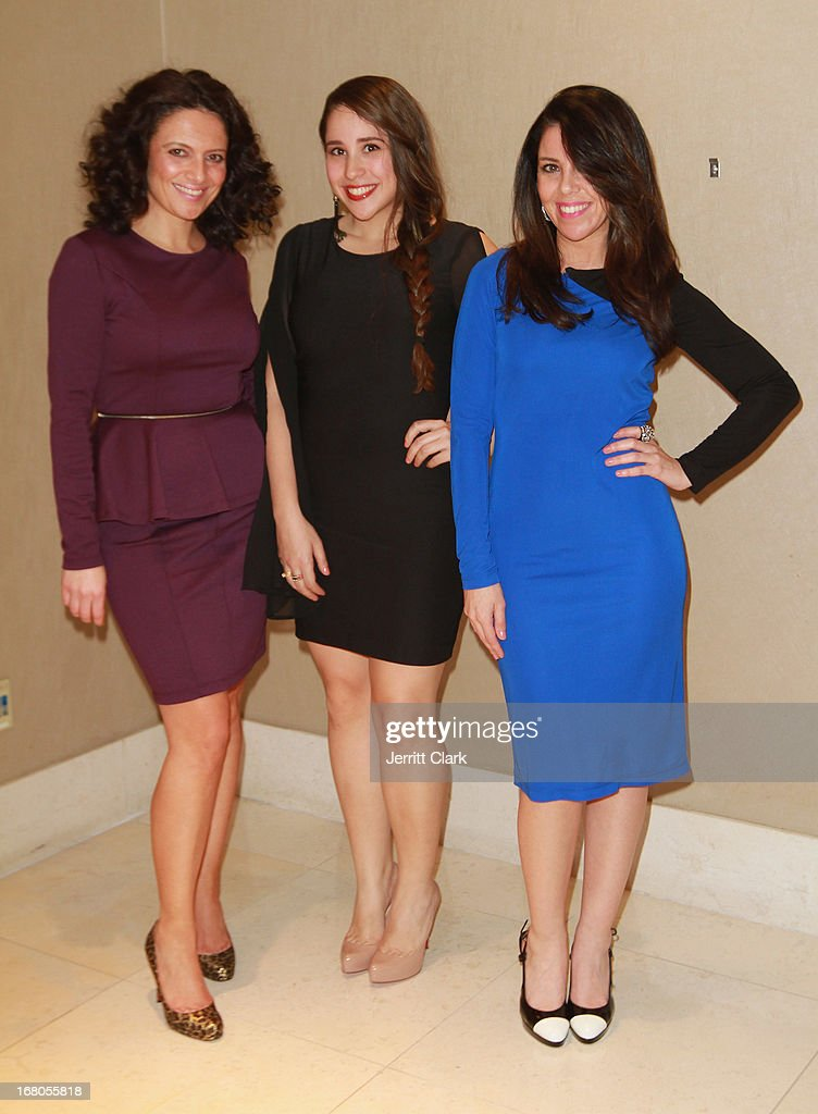 Designers Susan DiMeo, Yalenis Cepeda and Nicole Petito of Synderela attends the Made In The USA 2013 Fashion Presentation at the Carlton Hotel on April 23, 2013 in New York City.