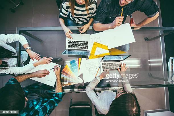 Designer sul posto di lavoro
