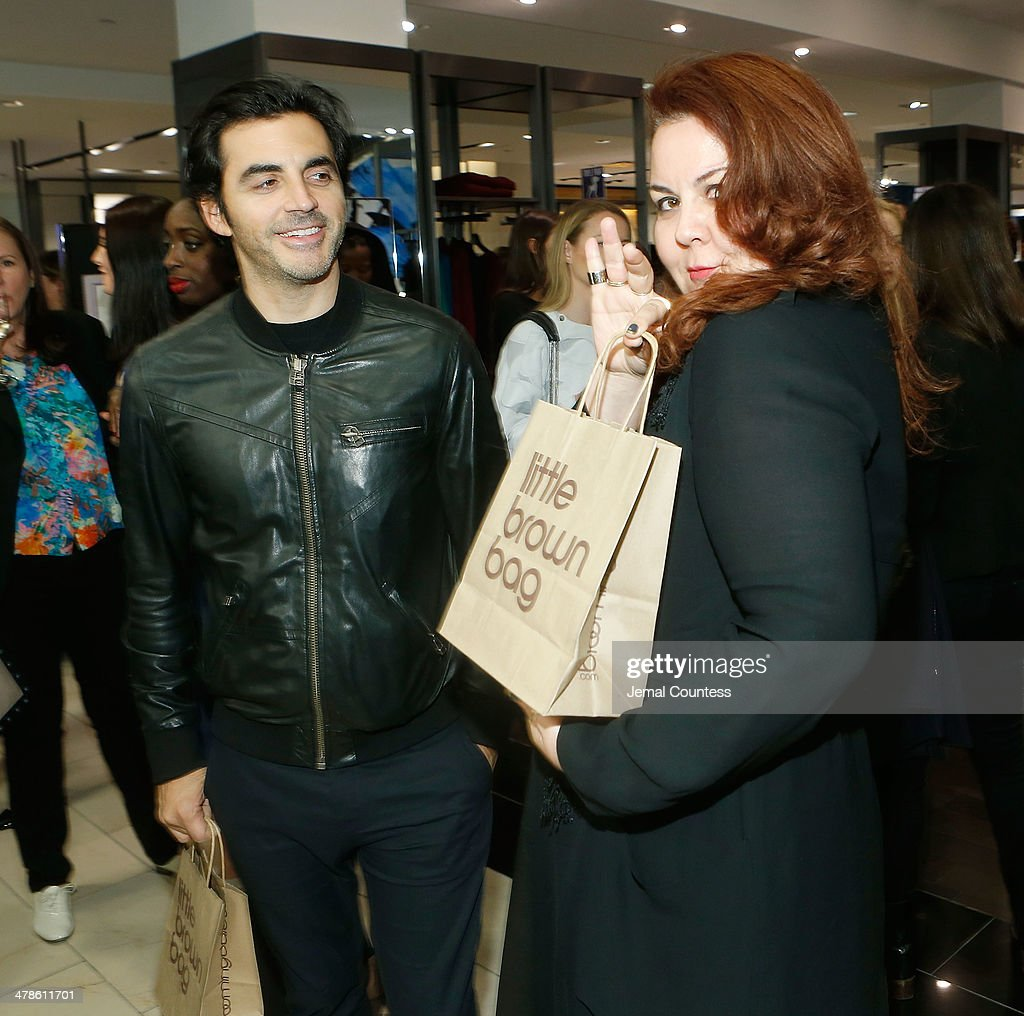 Designers Yigal Azrouel and Cynthia Vincent attend The Collective Launch Event at Bloomingdale's 59th Street Store on March 13 2014 in New York City