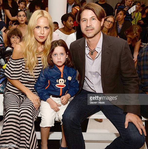Designer/stylist Rachel Zoe Skyler Berman and Rodger Berman attend Paul Frank Industries' debut of children's Spring/Summer 2016 collection at New...