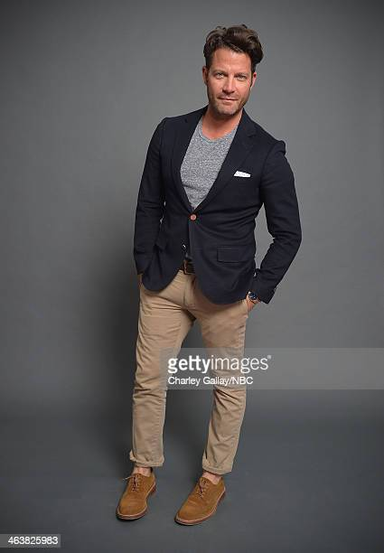 Designer/Tv Personality Nate Berkus attends the 2014 NBCUniversal TCA Winter Press Tour Portraits at Langham Hotel on January 19 2014 in Pasadena...
