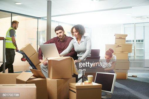 Progettazione di interni ufficio spazio