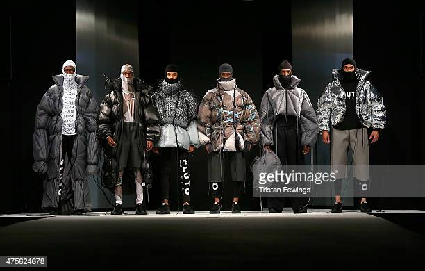 Designs by Hannah Wallace from Manchester School of Art during the Best of Graduate Fashion Week show on day 4 of Graduate Fashion Week at The Old...