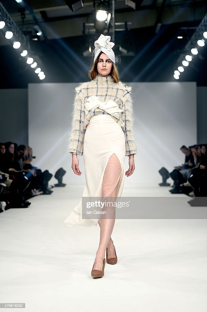 Designs by Maria Fernanda Ortega Duenas of the Universidad CENTRO Mexico on day 4 of Graduate Fashion Week sponsored by George at Asda at The Old...