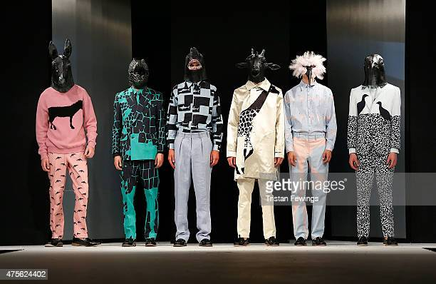 Designs by Maria Philippou from the University of Salford during the Best of Graduate Fashion Week show on day 4 of Graduate Fashion Week at The Old...