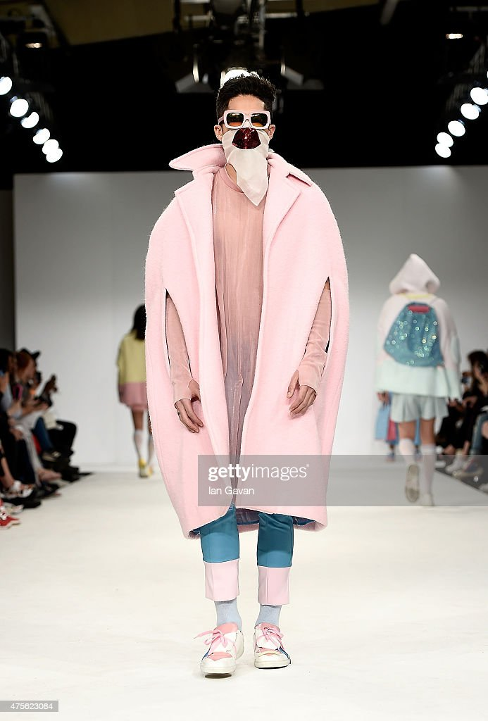 Designs by Nicolas Martin Garcia and Christopher Strangeby at the Samsonite International Catwalk Competition during day 4 of Graduate Fashion Week...