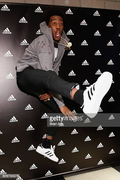 Desiigner attends the adidas New York Flagship Preview Party on November 29 2016 in New York City
