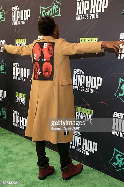 Desiigner attends the BET Hip Hop Awards 2016 Green Carpet at Cobb Energy Performing Arts Center on September 17 2016 in Atlanta Georgia