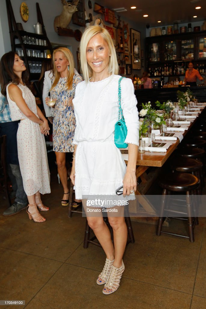 Desinger Alexandra Von Furstenberg attends the Paper Denim & Cloth and Baby2Baby Luncheon at Son Of A Gun on June 11, 2013 in Los Angeles, California.