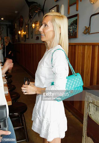 Desinger Alexandra Von Furstenberg attends the Paper Denim Cloth and Baby2Baby Luncheon at Son Of A Gun on June 11 2013 in Los Angeles California