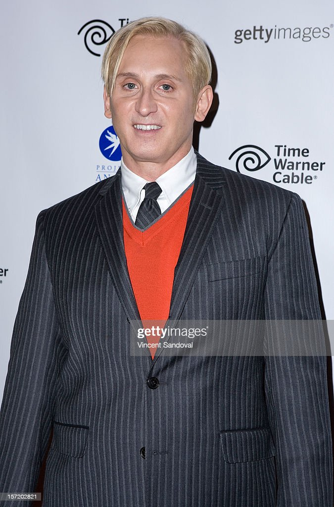 Desinger David Meister attends the Divine Design 2012 Opening Rock 'n' Roll Party on November 29, 2012 in Beverly Hills, California.