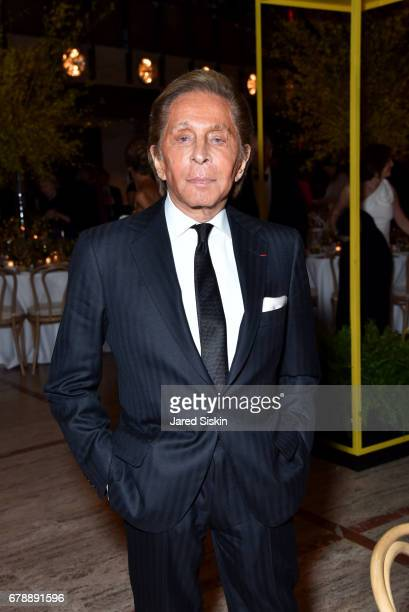 Desinger Valentino Garavani attends the New York City Ballet 2017 Spring Gala at David H Koch Theater Lincoln Center on May 4 2017 in New York City