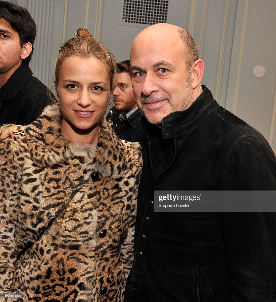 Desingers Charlotte Ronson and John Varvatos attend the after party for the Gucci and The Cinema Society screening of 'Oz the Great and Powerful' at Harlow on March 5, 2013 in New York City.