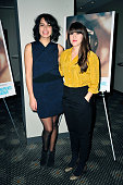 Desiree Akhavan and Cecelia Frugiuele attends 'Appropriate Behavior' New York Screening at Elinor Bunin Munroe Film Center on January 6 2015 in New...