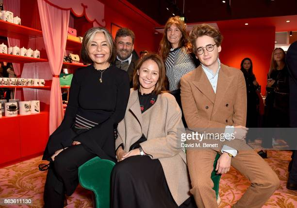 Desiree Bollier Trevor Pickett Caroline Rush Victoria Stapleton and Luke Edward Hall at the opening of the new Bicester Village and the launch of the...