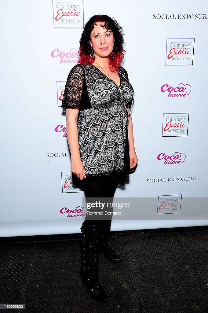 Desiree Duffie attends the 'Coco Licious' Collection Launch at The Raven on March 25, 2014 in New York City.