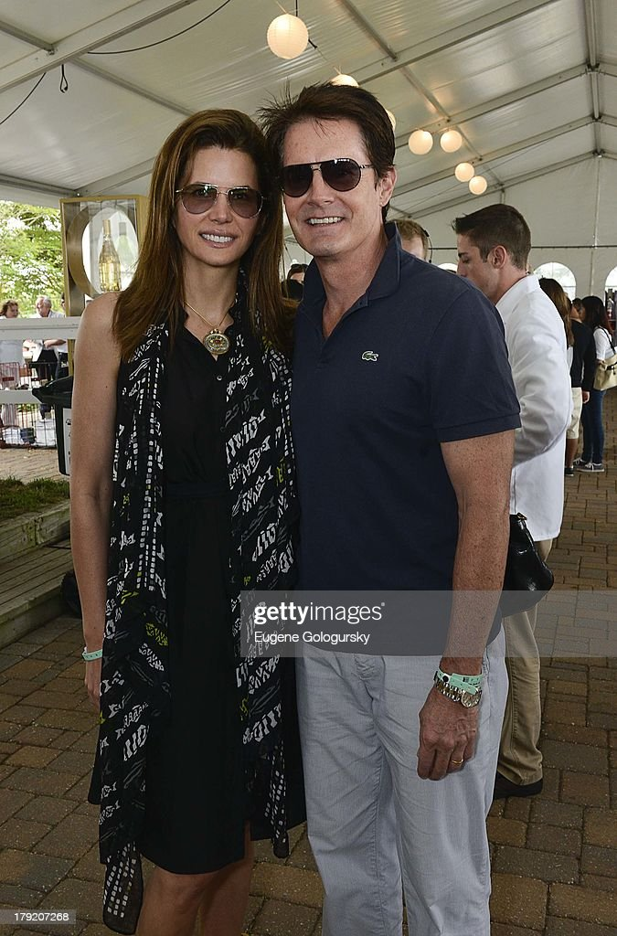 <a gi-track='captionPersonalityLinkClicked' href=/galleries/search?phrase=Desiree+Gruber&family=editorial&specificpeople=592139 ng-click='$event.stopPropagation()'>Desiree Gruber</a> and KyleMacLachlan attend the Hamptons Magazine Celebration of Grand Prix Sunday At Hampton Classic on September 1, 2013 in Bridgehampton, New York.