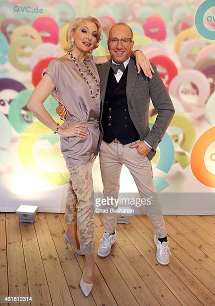 Desiree Nick and Thomas Rath attend the Fashion Meets Lifestyle Event at Postbahnhof on January 20 2015 in Berlin Germany
