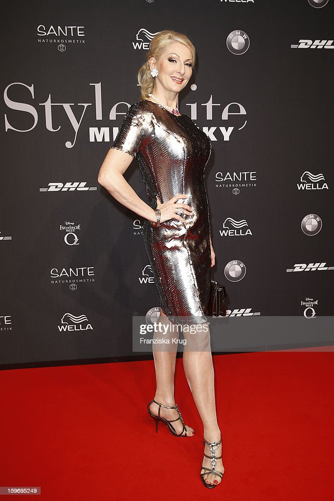 Desiree Nick arrives at the 'Michalsky Style Nite' during the Mercedes-Benz Fashion Week Autumn/Winter 2013/14' at Tempodrom on January 18, 2013 in Berlin, Germany.