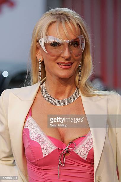 Desiree Nick arrives at the New Faces Award May 11 2006 at the Berlin Congress Center in Berlin Germany