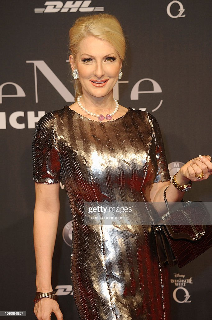 Desiree Nick attends Michalsky Style Nite Arrivals - Mercedes-Benz Fashion Week Autumn/Winter 2013/14 at Tempodrom on January 18, 2013 in Berlin, Germany.