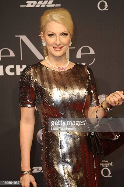 Desiree Nick attends Michalsky Style Nite Arrivals MercedesBenz Fashion Week Autumn/Winter 2013/14 at Tempodrom on January 18 2013 in Berlin Germany