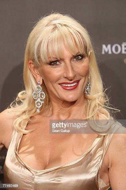 Desiree Nick attends the annual Moet and Chandon Fashion Debut October 23 2007 in Berlin Germany