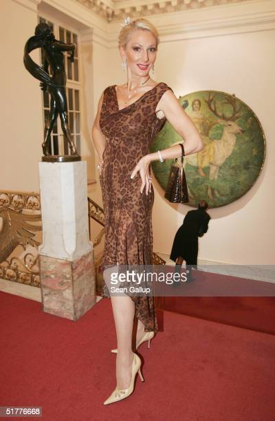 Desiree Nick attends the 'Artists Against AIDS Gala' at the Theater des Westens November 22 2004 in Berlin Germany